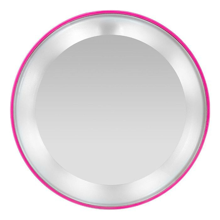 Pink Perfection 15x Lighted Magnifying Mirror