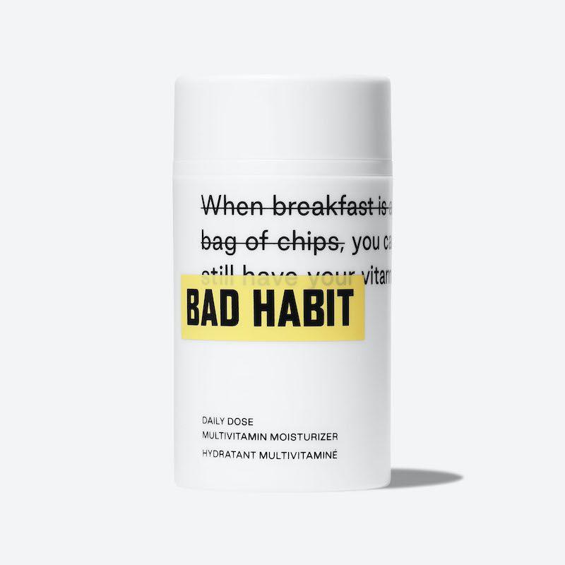 Bad Habit moisturizer