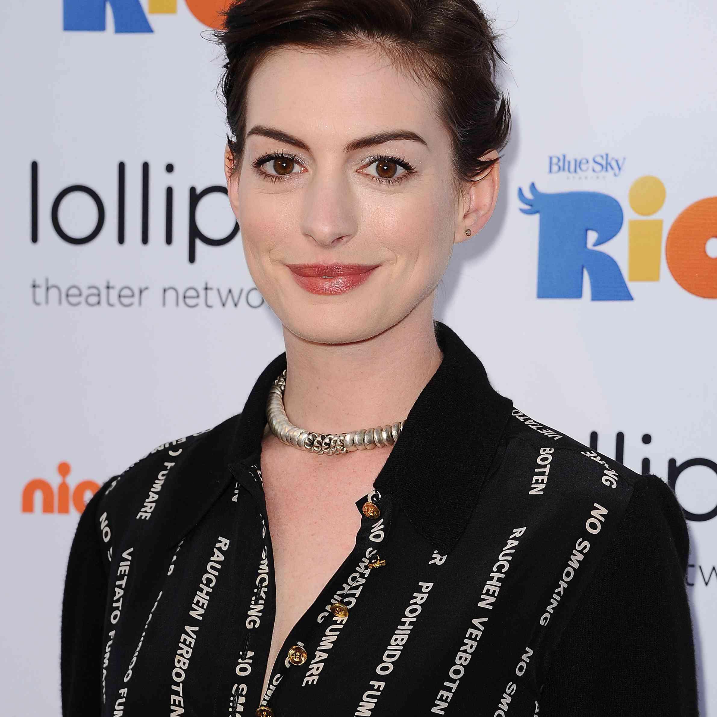 Anne Hathaway - Long Pixie Cut