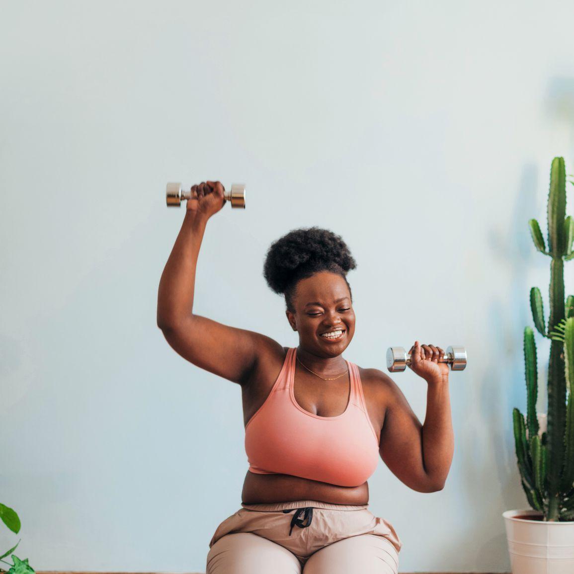 black femme exercise