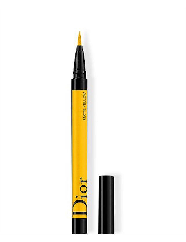 Dior Diorshow On Stage Liquid Eyeliner in Matte Yellow