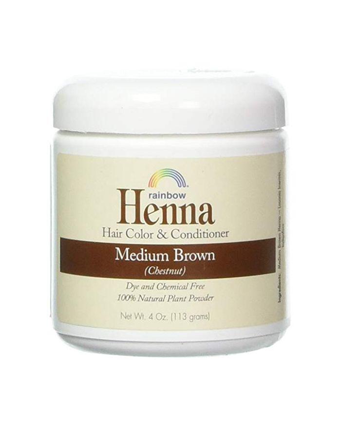 Rainbow Henna Hair Color