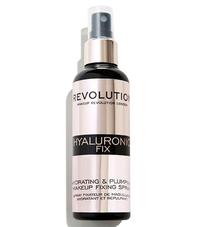 Best Drugstore Face Mist: Revolution Hyaluronic Fixing Spray