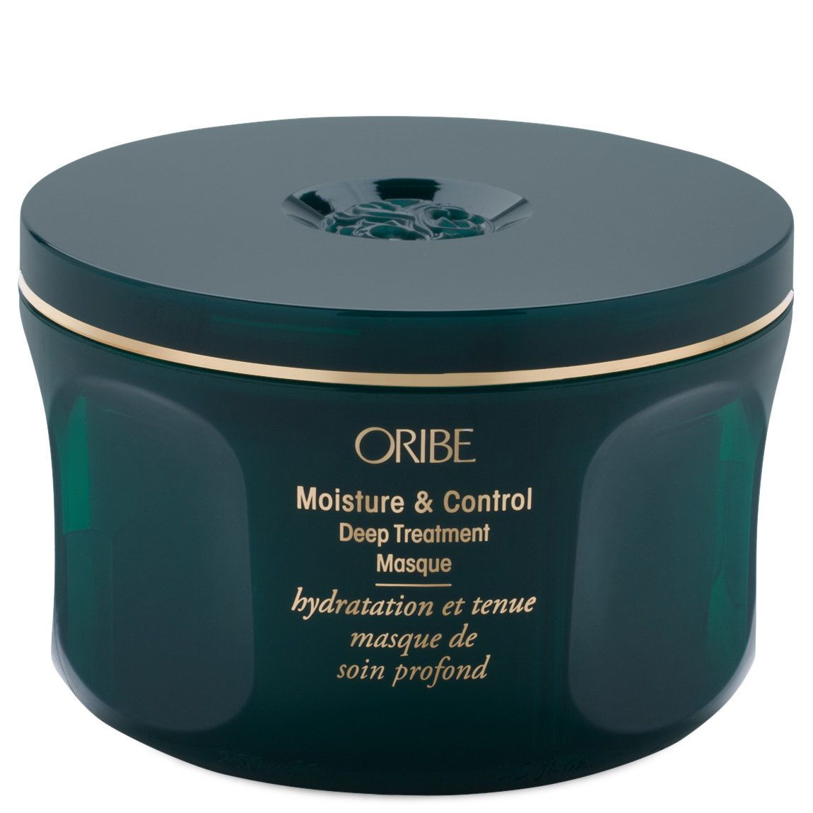 Oribe moisture and control deep treatment masque in green container