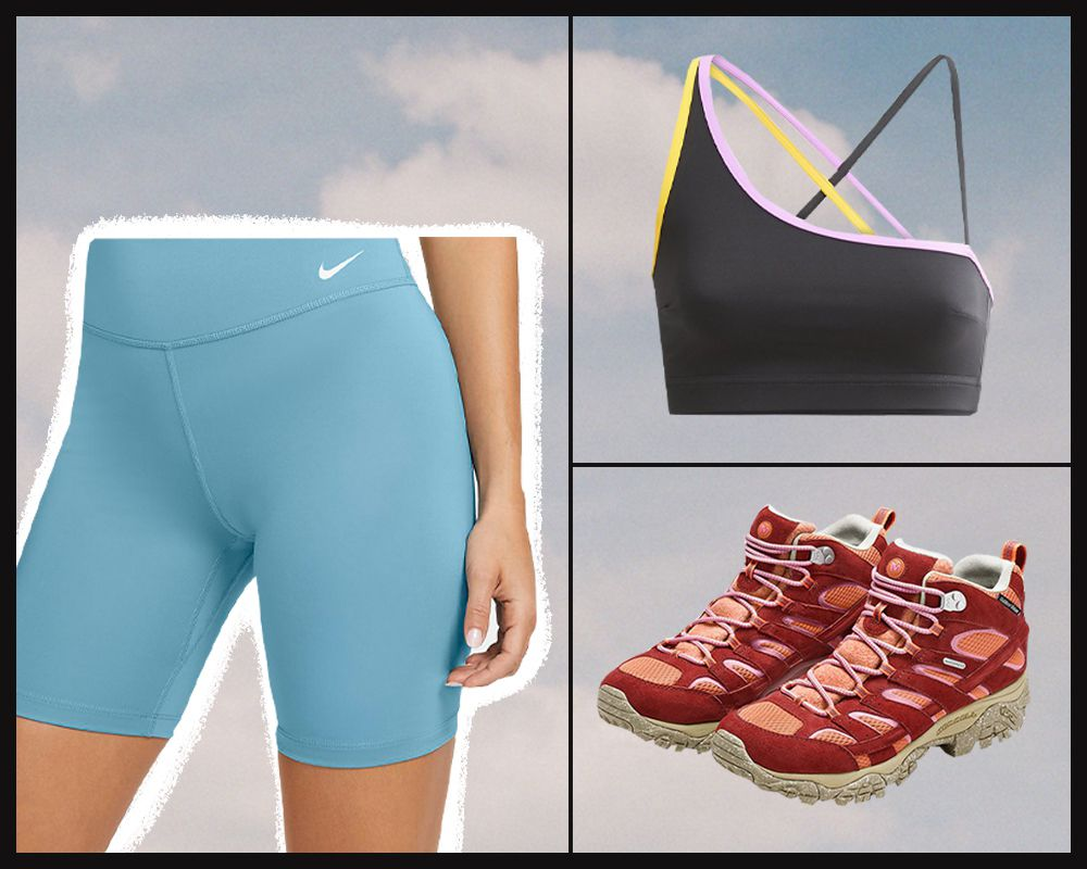 hot weather hiking outfit