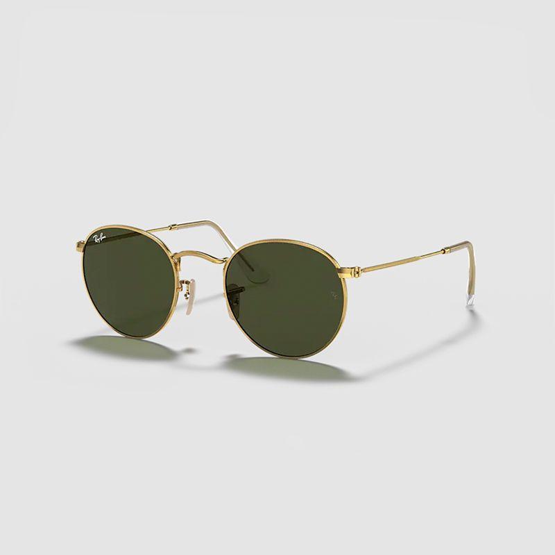 Round Metal Classic Sunglasses