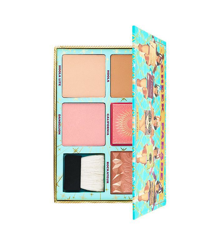 benefit cheek parade bronzer and blush palette-april launches 2017