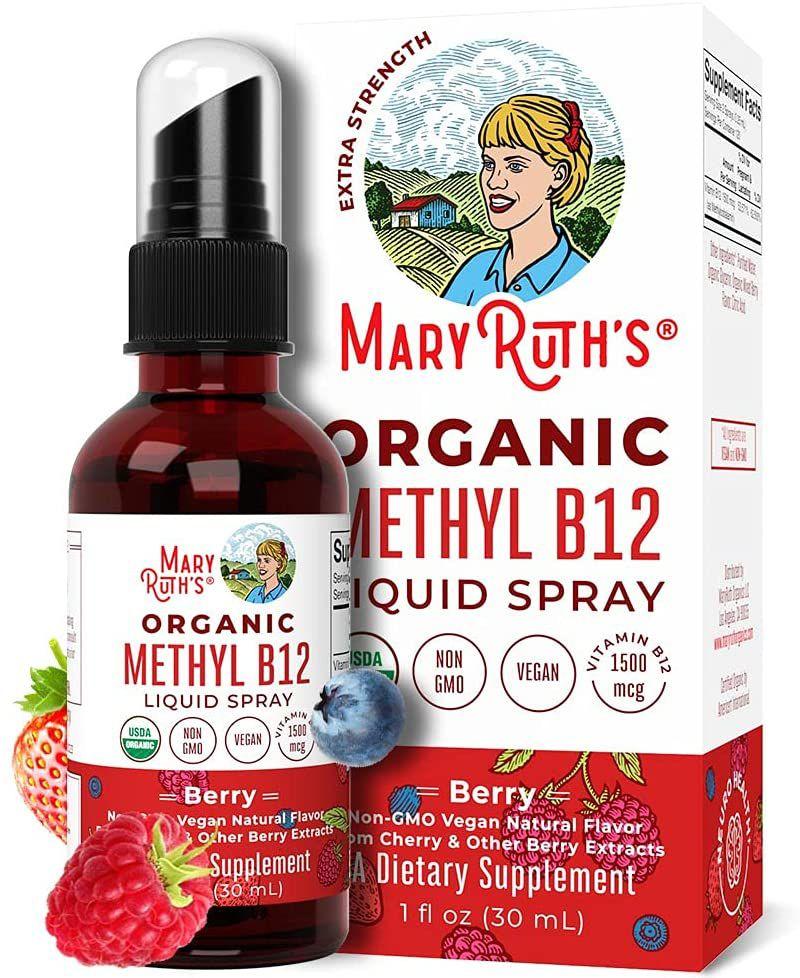 Mary Ruth's Organic Methyl B12 Liquid Spray