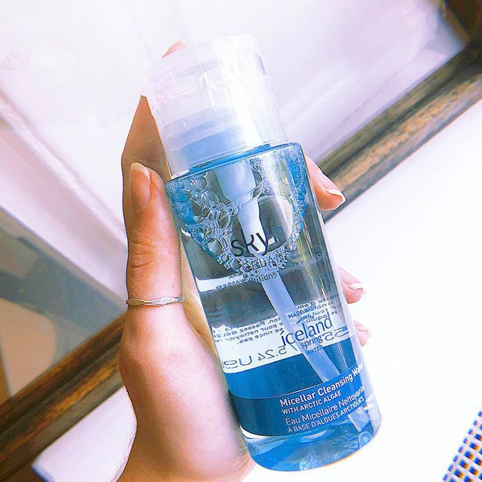 Skyn Iceland micellar cleansing water review: Skyn Iceland Micellar Water