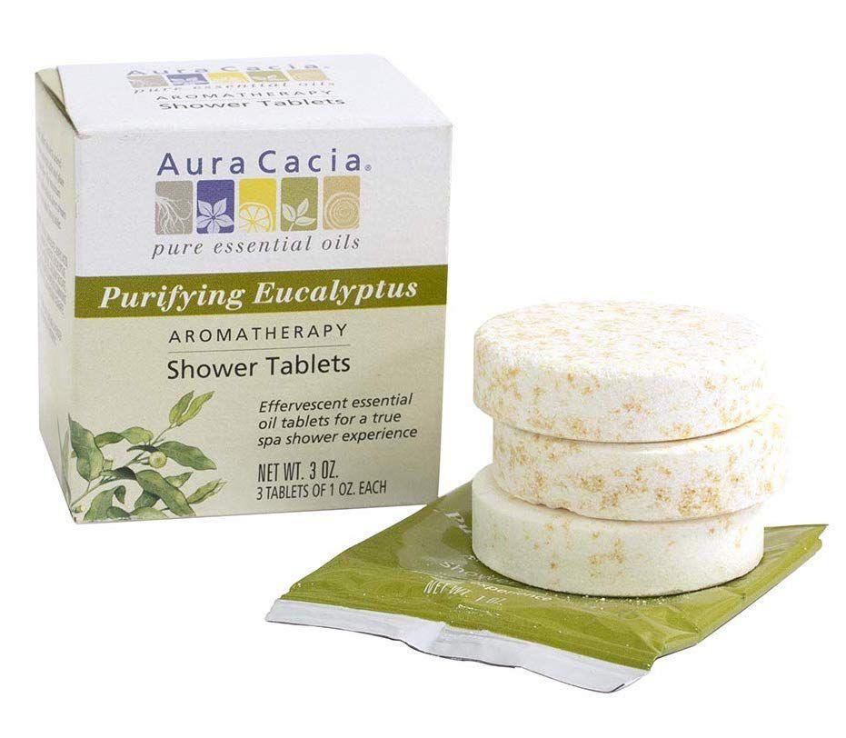 Aura Cacia Eucalyptus Shower Tablets