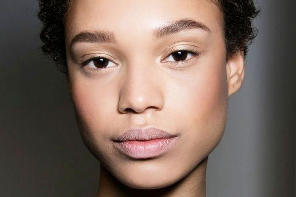 Fresh faced woman close-up