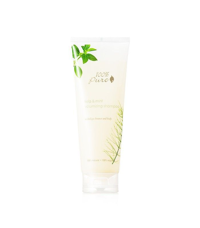 100% Pure Kelp & Mint Volumizing Shampoo