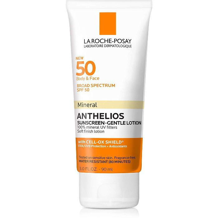 La Roche-Posay Anthelios Body and Face Gentle-Lotion Mineral Sunscreen SPF 50
