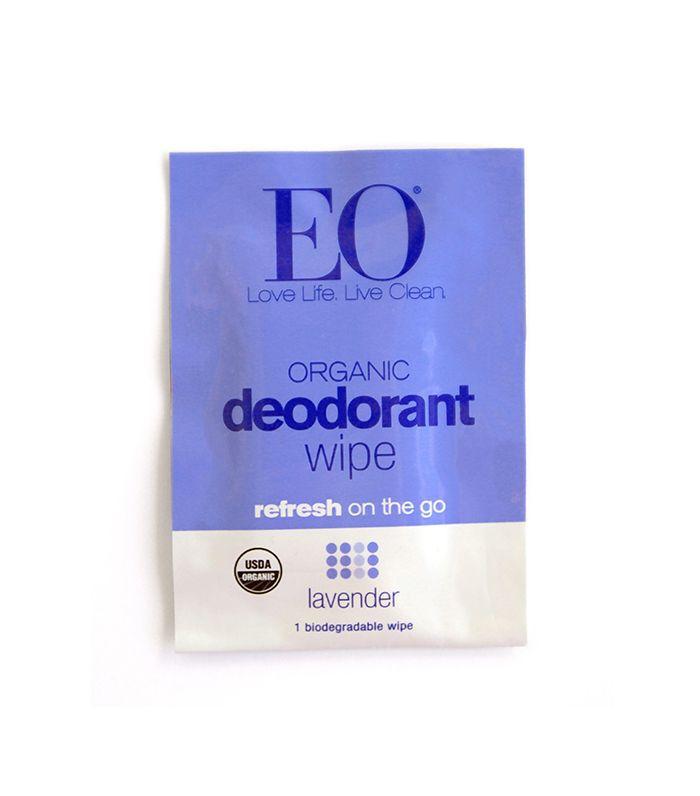 EO Organic Deodorant Wipes Lavender