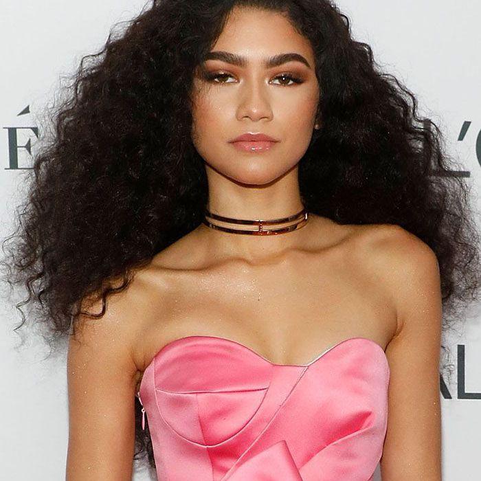 Zendaya Dark Brown Hair