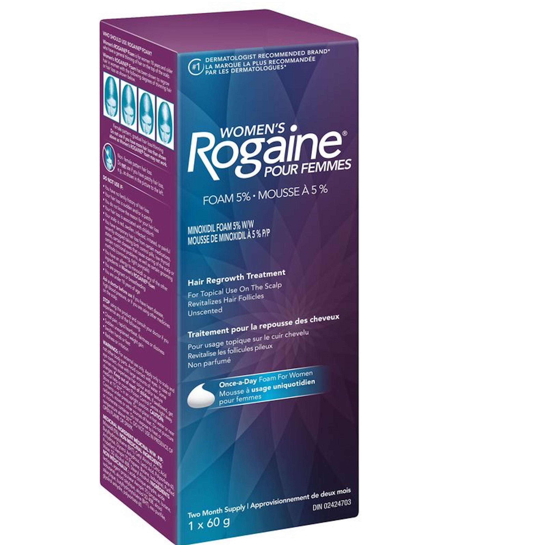 Women's Rogaine Minoxidil Unscented Foam