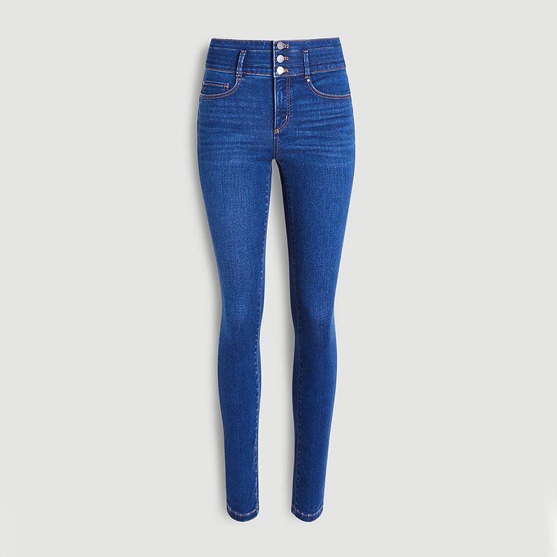 Ann Taylor Sculpting Pocket High Rise Skinny Jeans