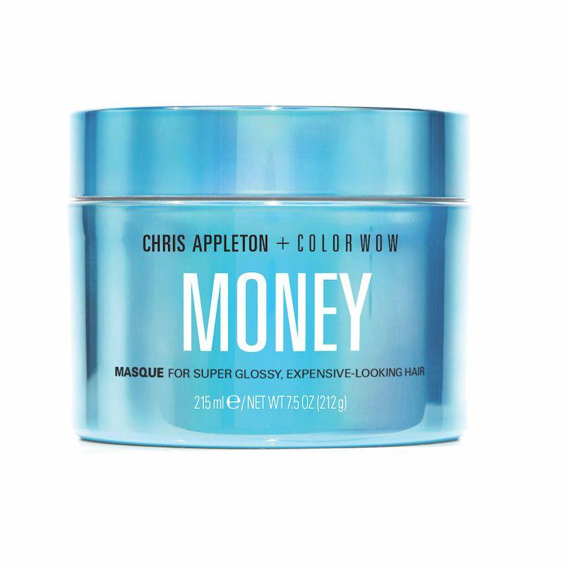 Blue tub of hair masque