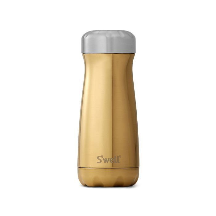 S'Well Traveller Bottle in Yellow Gold