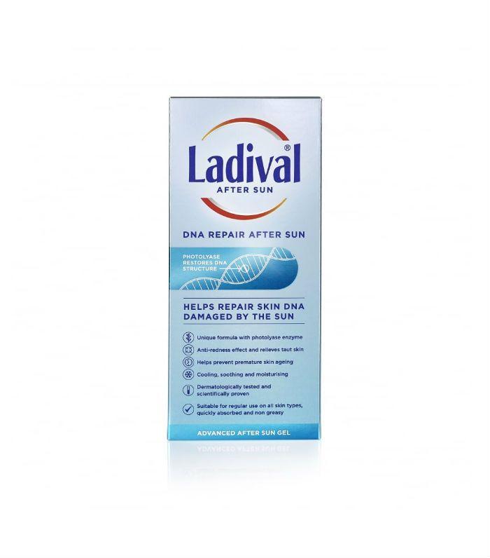 How to Treat Sunburn: Ladival DNA Repair After Sun Gel