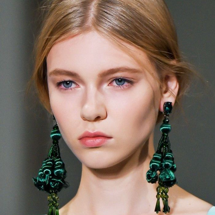 Statement Earrings Hairstyles