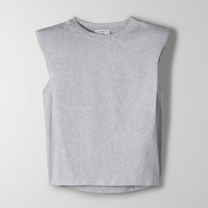 Babaton Shoulder Pad T-Shirt