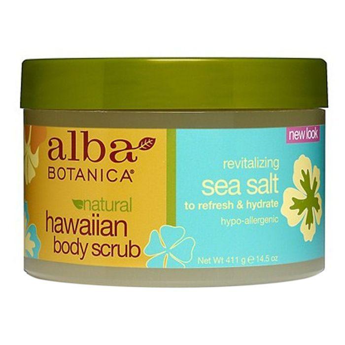 Alba Botanica Revitalizing Sea Salt Hawaiian Body Scrub