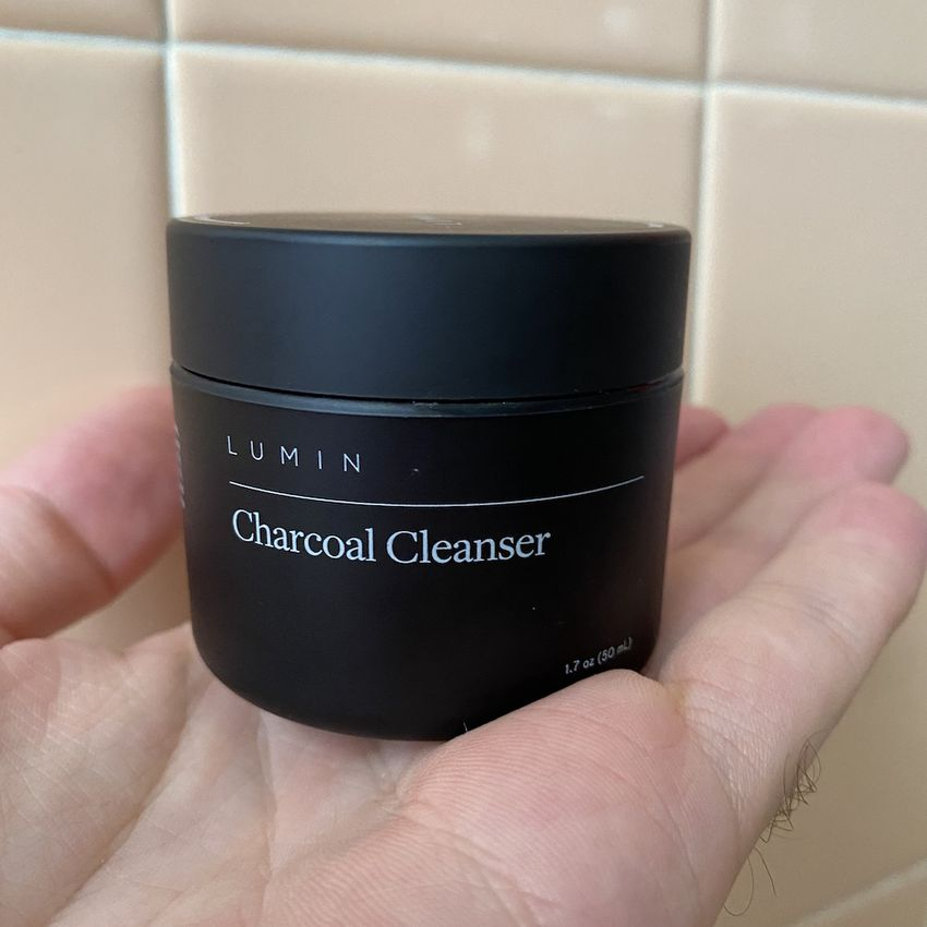 Lumin Charcoal Cleanser