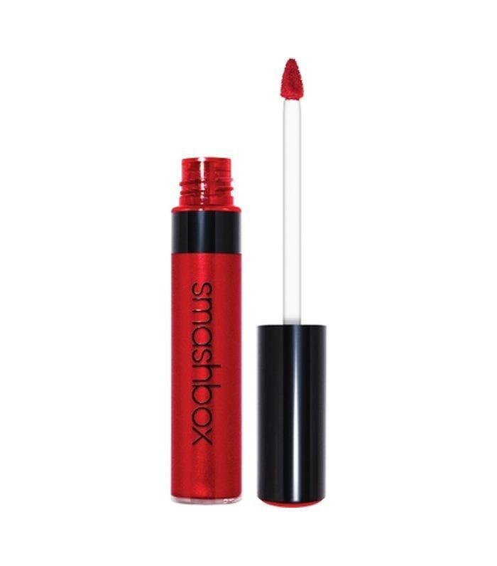 metallic makeup ideas: Smashbox Be Legendary Liquid in Crimson Chrome