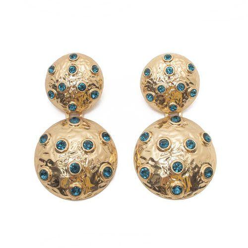 Blue Party Ready Earrings ($54)