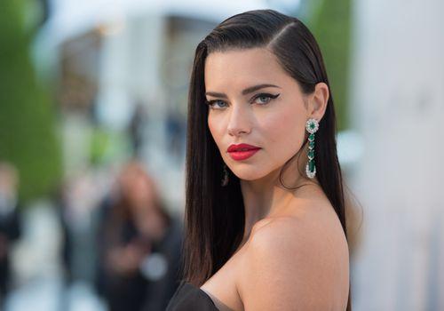 Glamorous Adriana Lima