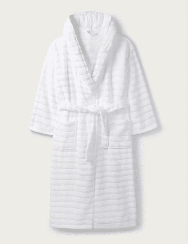 white company robe