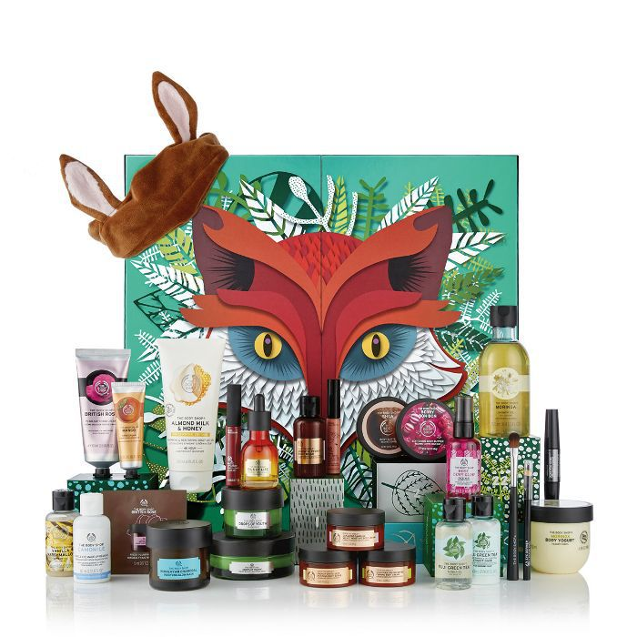 beauty advent calendar: The Body Shop Freddie Advent Calendar