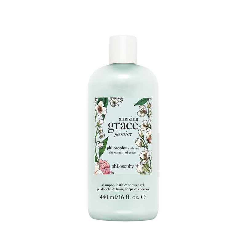 philosophy amazing grace jasmine shampoo, bath, & body shower gel
