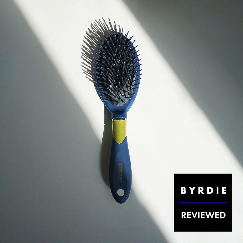 conair velvet touch hair brush