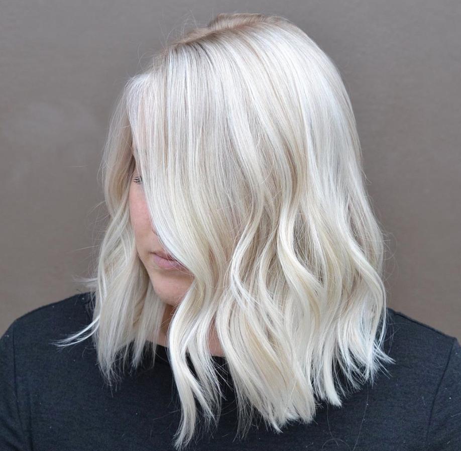 25 Gorgeous White Blonde Hair Color Ideas