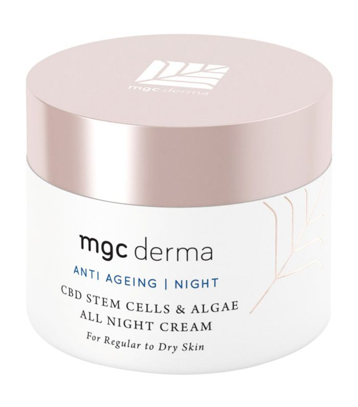 MGC Derma CBD Stem Cells & Algae All Night Cream