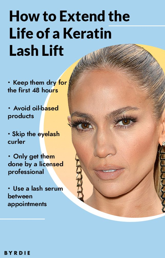 How To Extend The Life of a Keratin Lash Lift