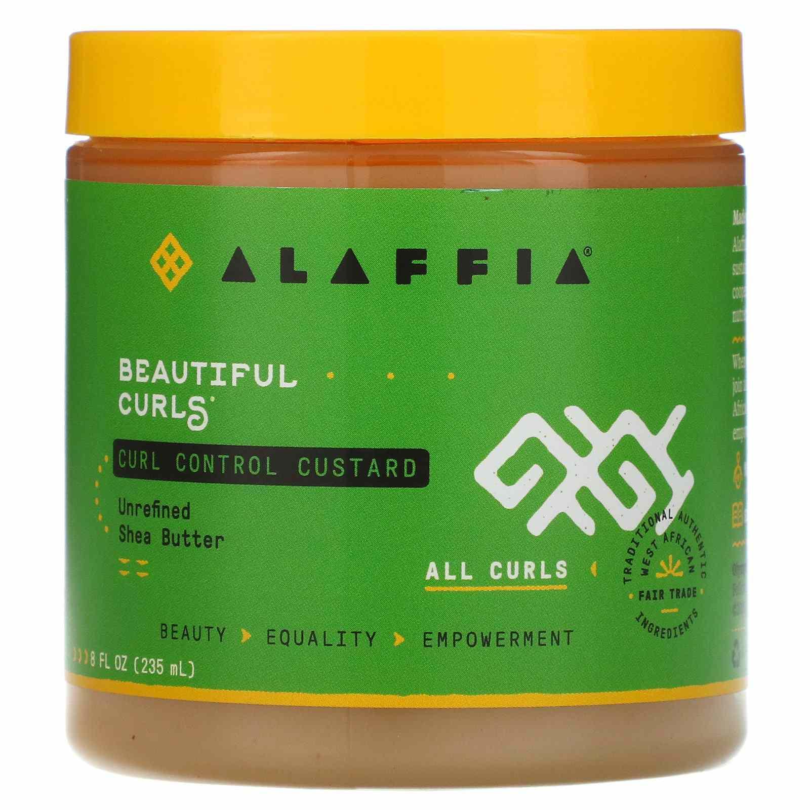 alaffia curl control custard
