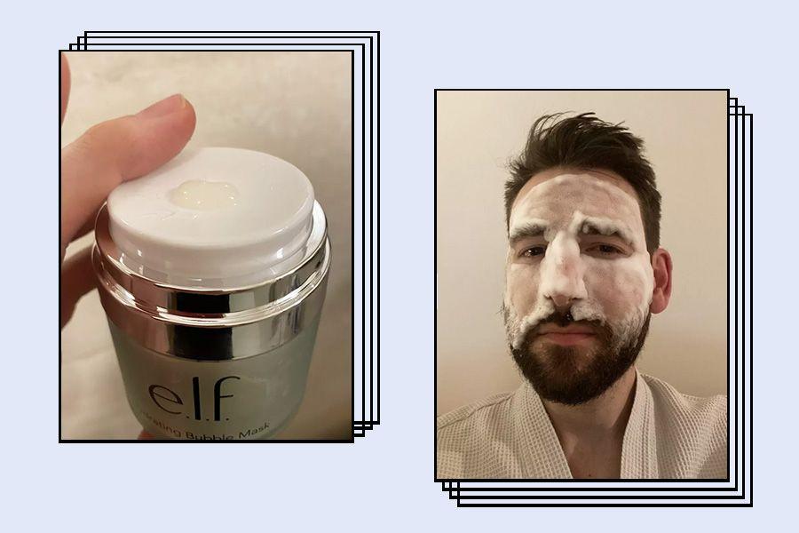 E.l.f. Hydrating Bubble Mask Texture
