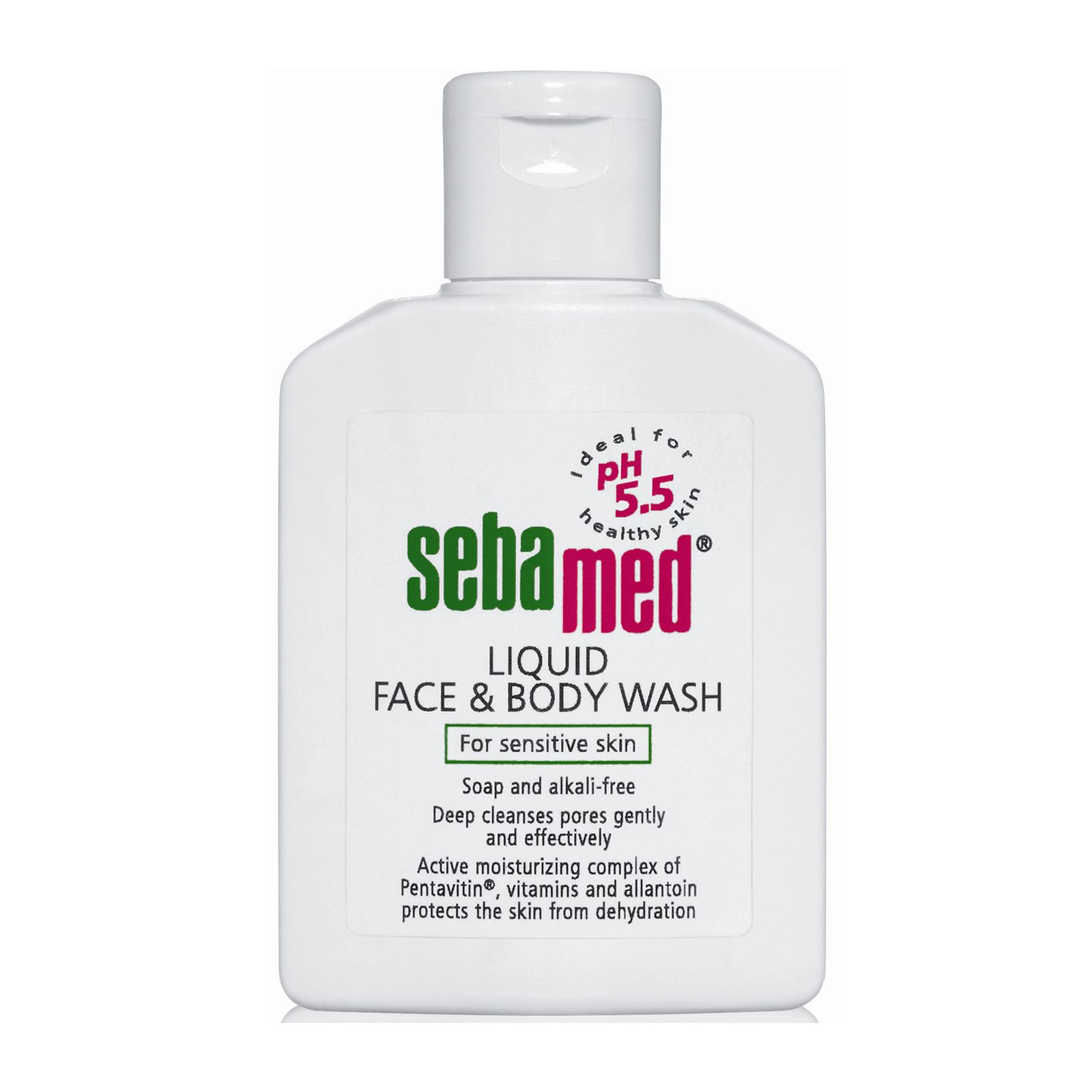 Sebamed face and body wash