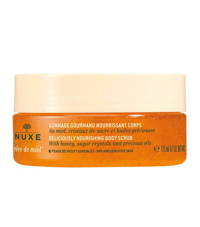 Best Body Scrub: Nuxe Rêve de Miel Deliciously Nourishing Body Scrub