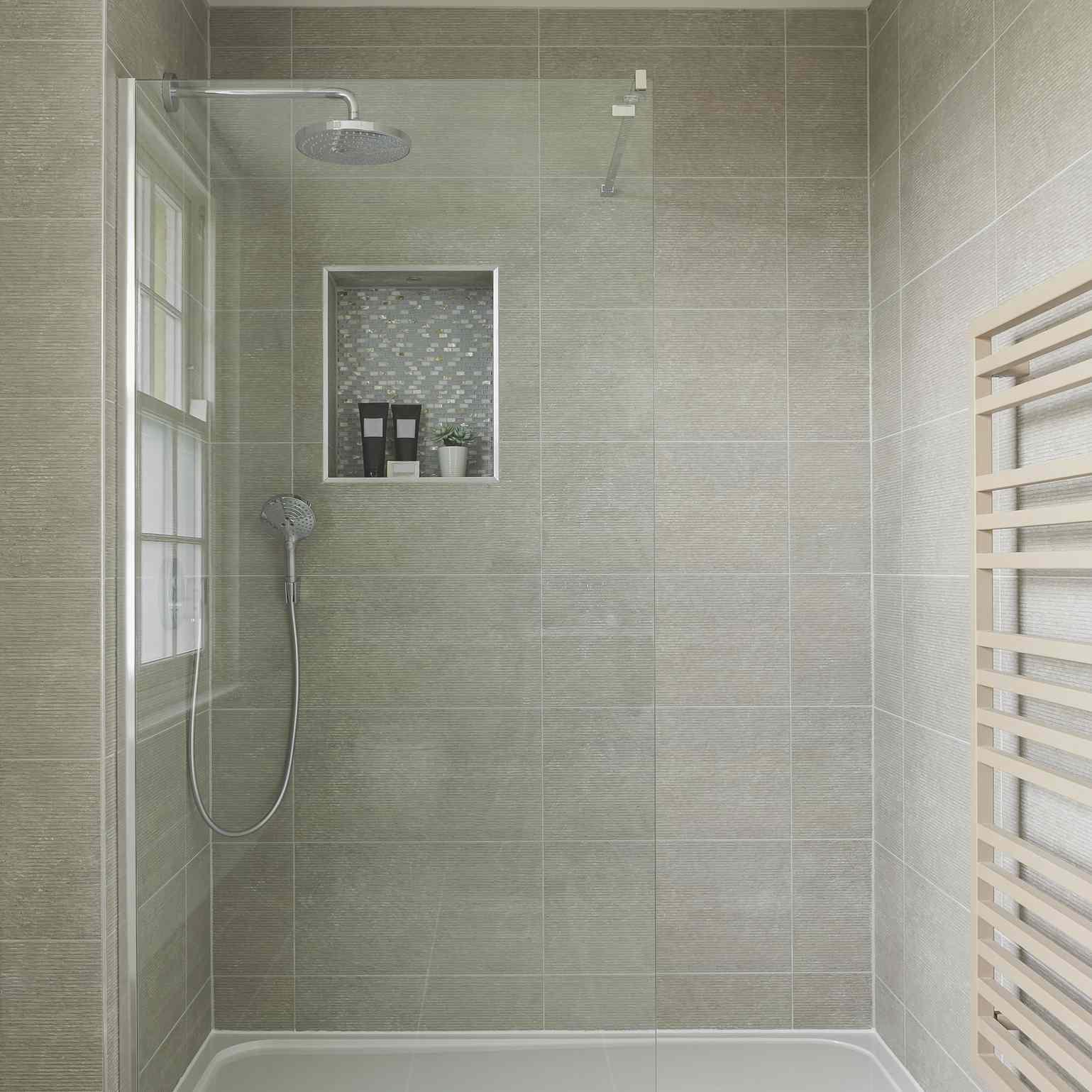 tan shower