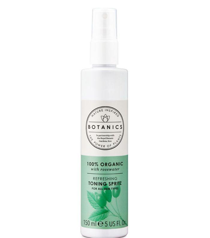 Best Drugstore Face Mist: Botanics Organic Rosewater Toning Spritz