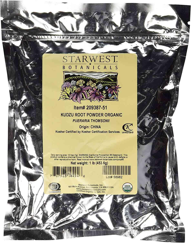 Starwest Botanicals kuzdu root powder