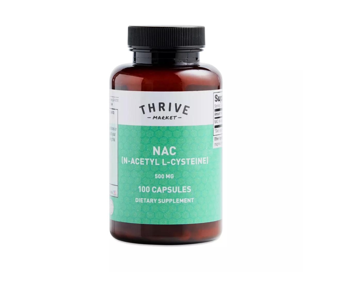 NAC: N-Acetyl L-Cysteine