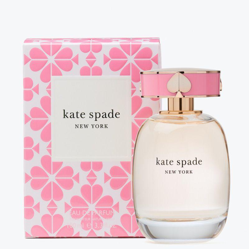 Kate Spade pink perfume bottle