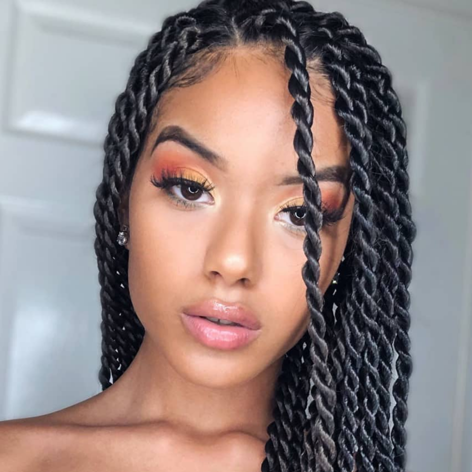 20 Marley Twists Looks For Natural Hair