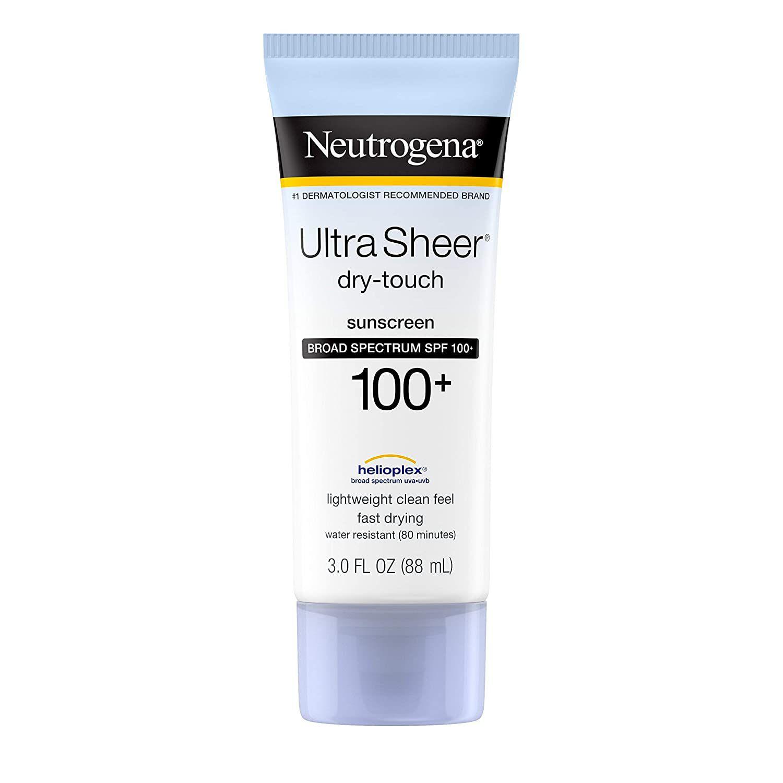 Neutrogena Ultra Sheer Dry-Touch SPF 100 Sunscreen Lotion