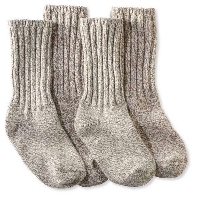 LL Bean Ragg Socks